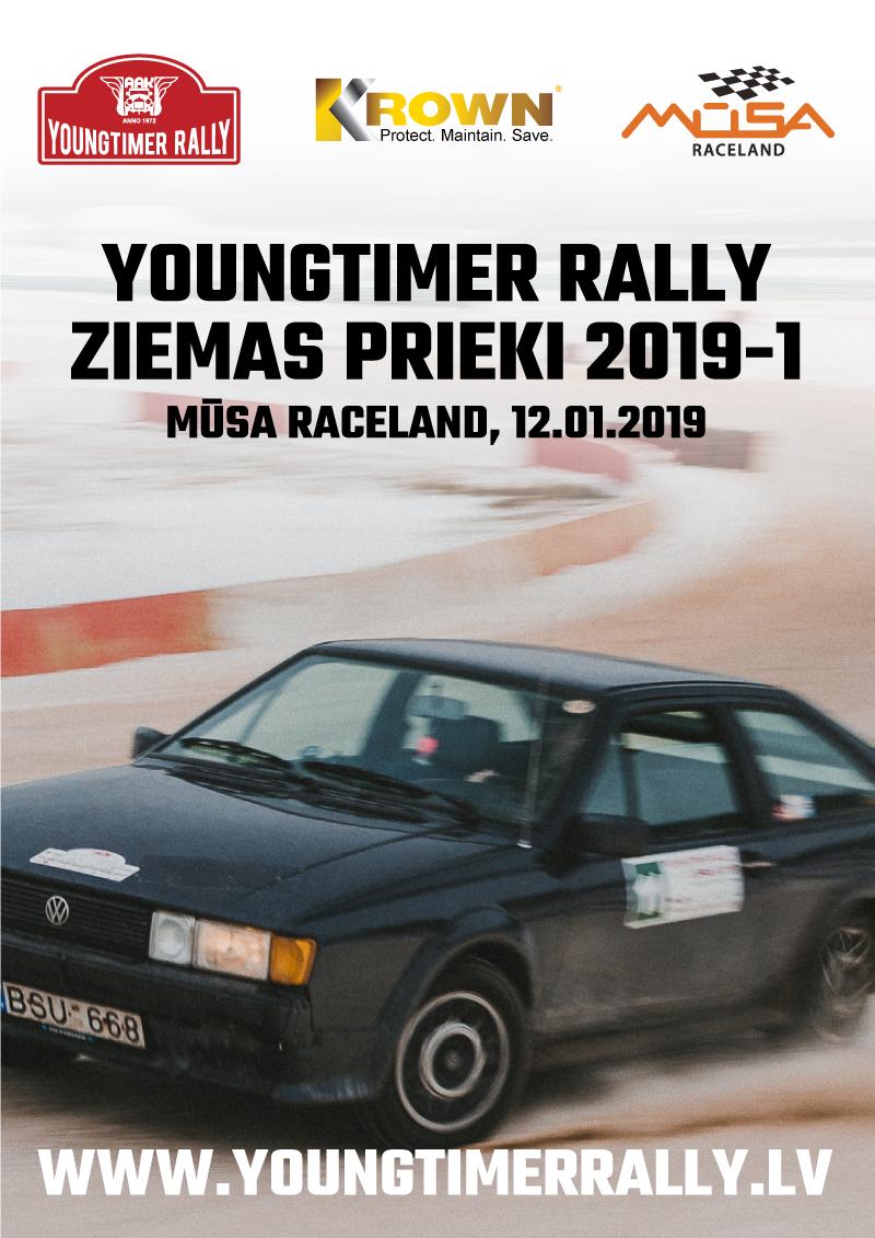 Youngtimer Rally Ziemas Prieki 12.01.2019