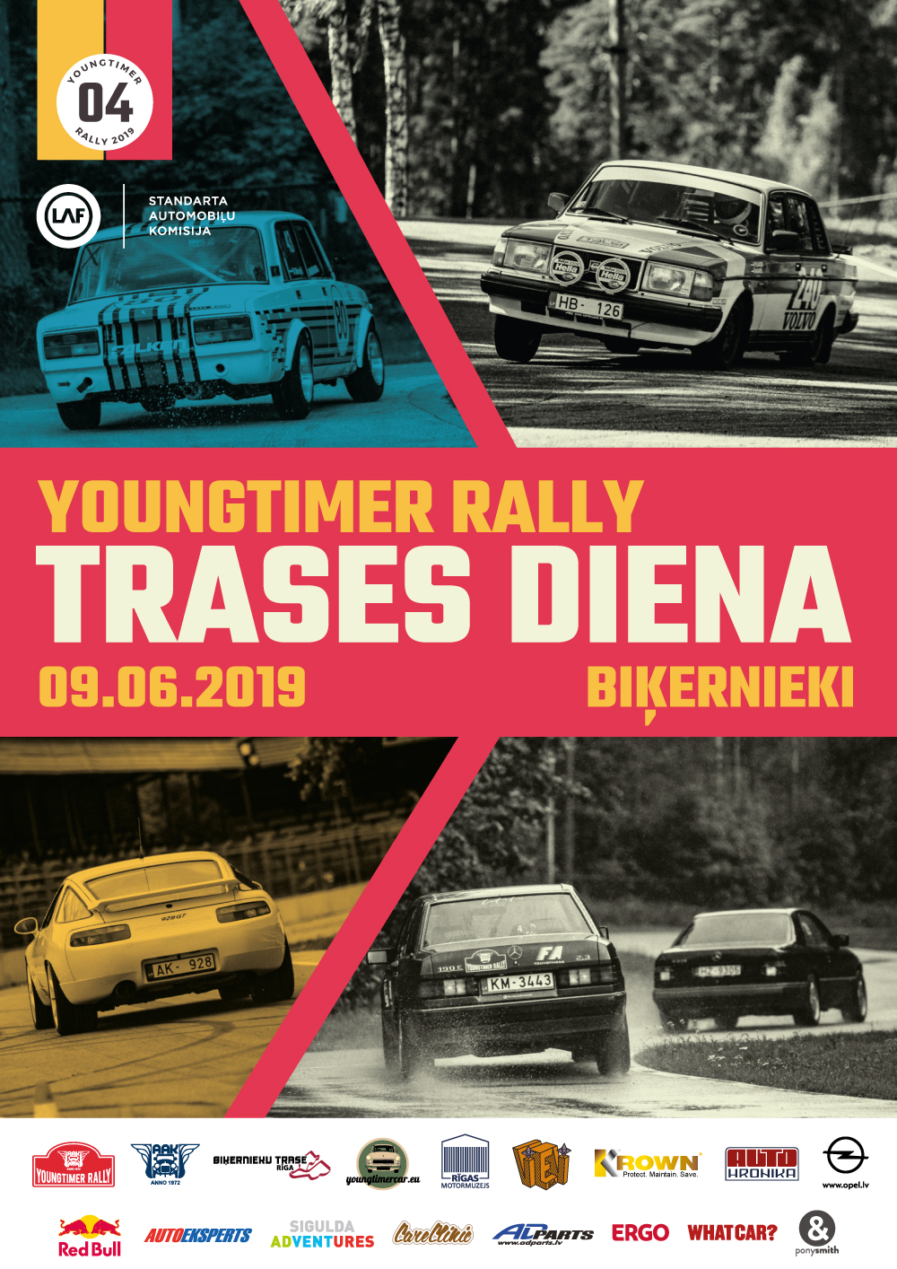 Youngtimer Rally Trases Diena 2019