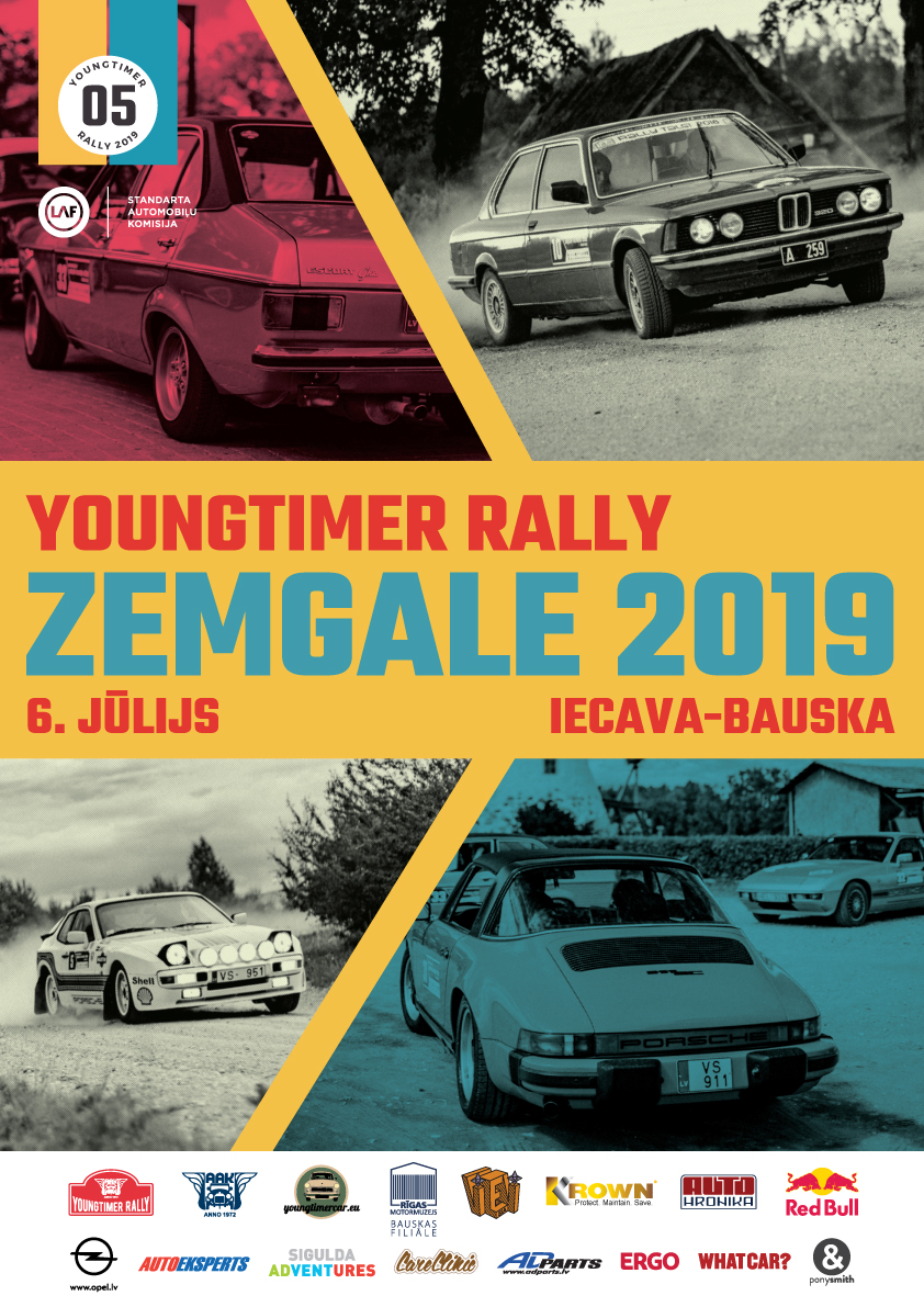 Youngtimer Rally Zemgale 2019