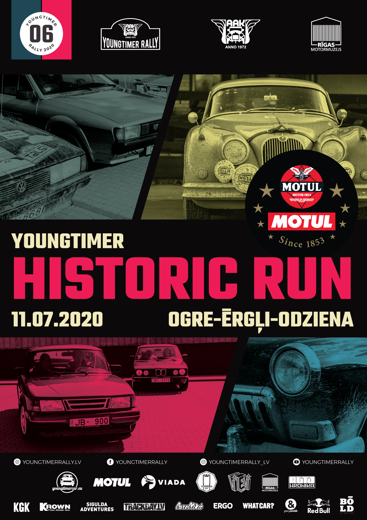 Youngtimer & Motul Historic Run 2020